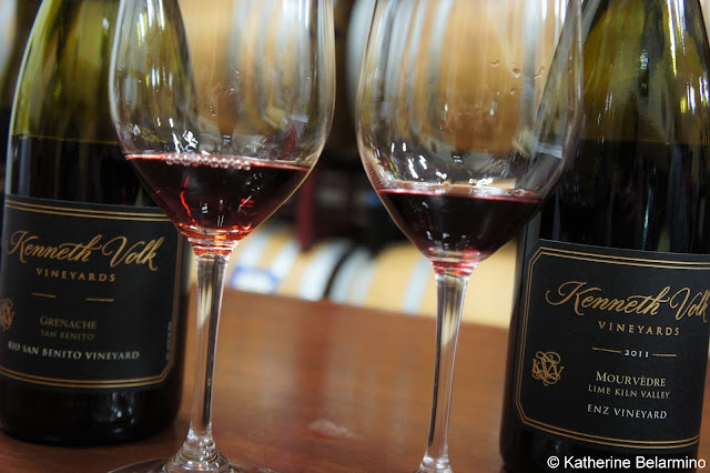 Kenneth Volk Vineyards Red Wine Tasting Santa Maria Central Coast