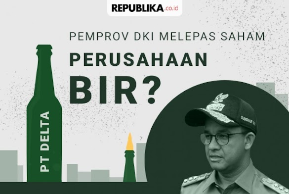 PDIP Nilai DKI tak Punya Alasan Logis Jual Saham Bir