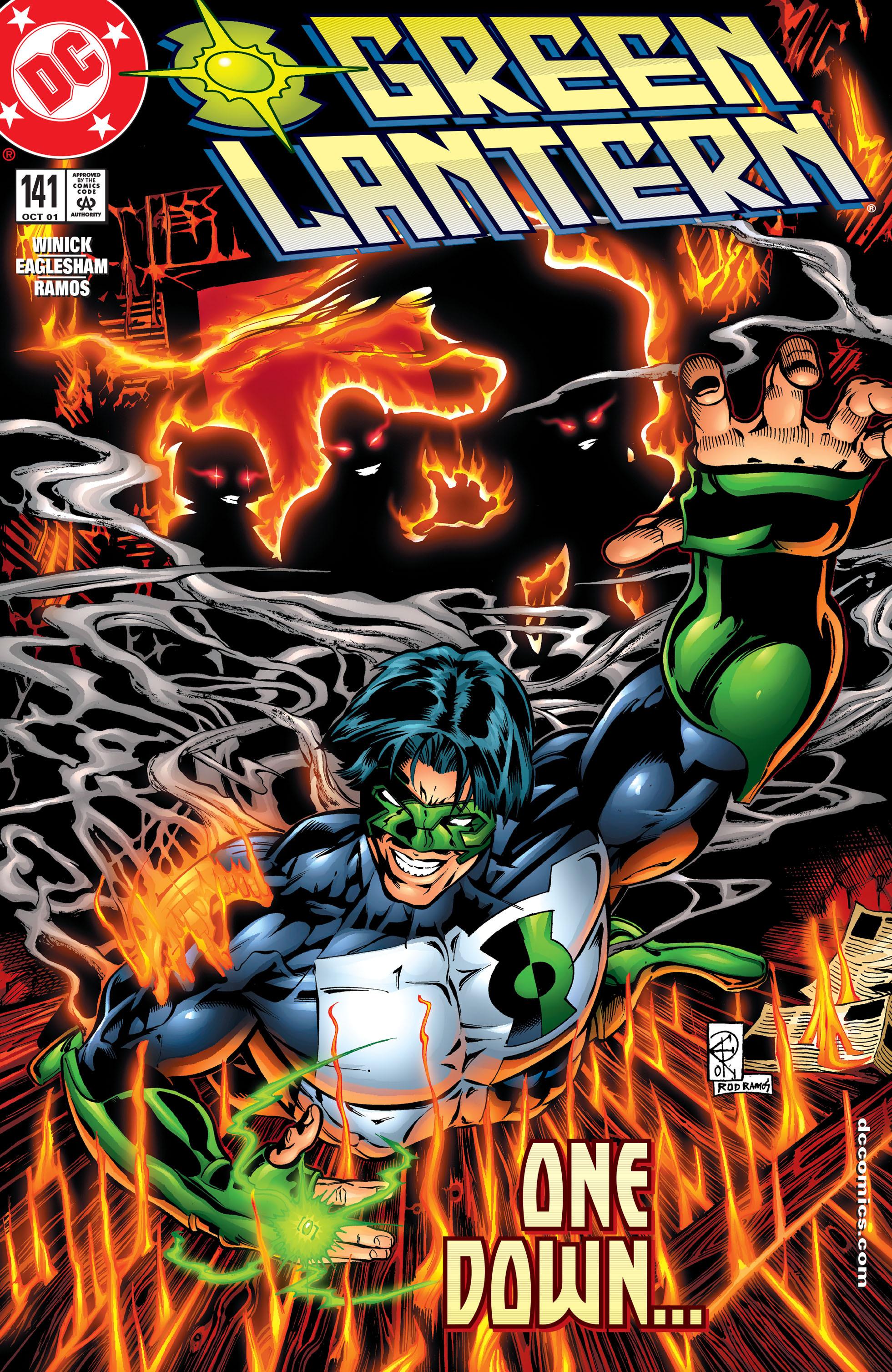 Green Lantern (1990) 141 Page 1