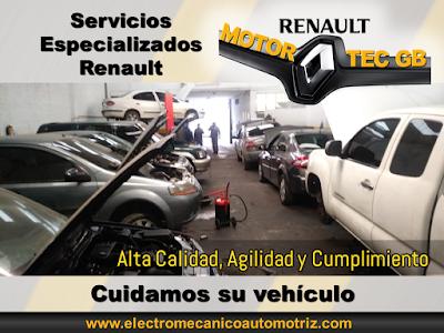 Taller Renault Servicio de Escaner en Bogota