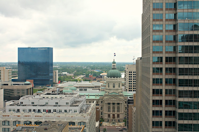 View from Soldiers and Sailors Monument Indianapolis