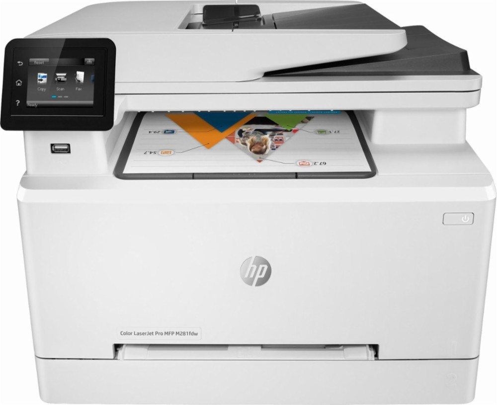 HP Color LaserJet Pro MFP M281cdw Printer Is One Of HPs Most Affordable All In Printers That Offers Effortless Setup And Excellent Quality Prints