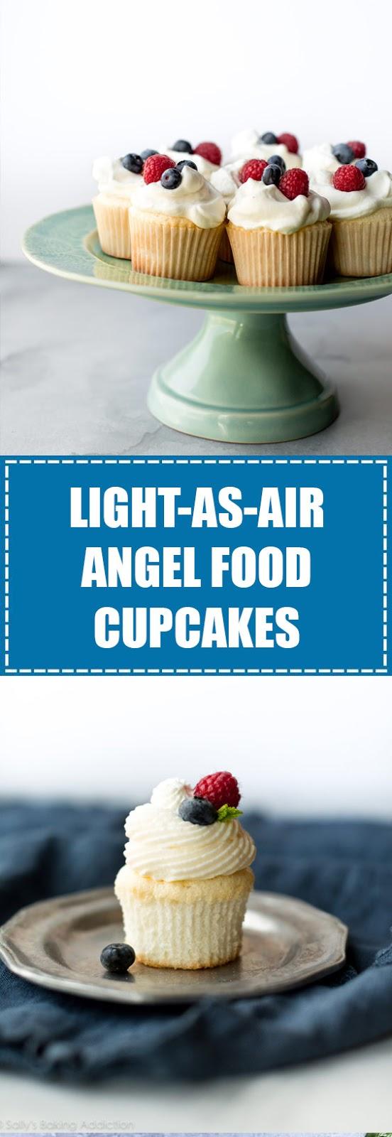 Light as Air Angel Food Cupcakes