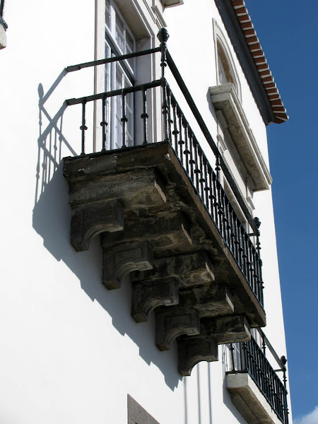 balcony in the Madeira Legislative Assembly