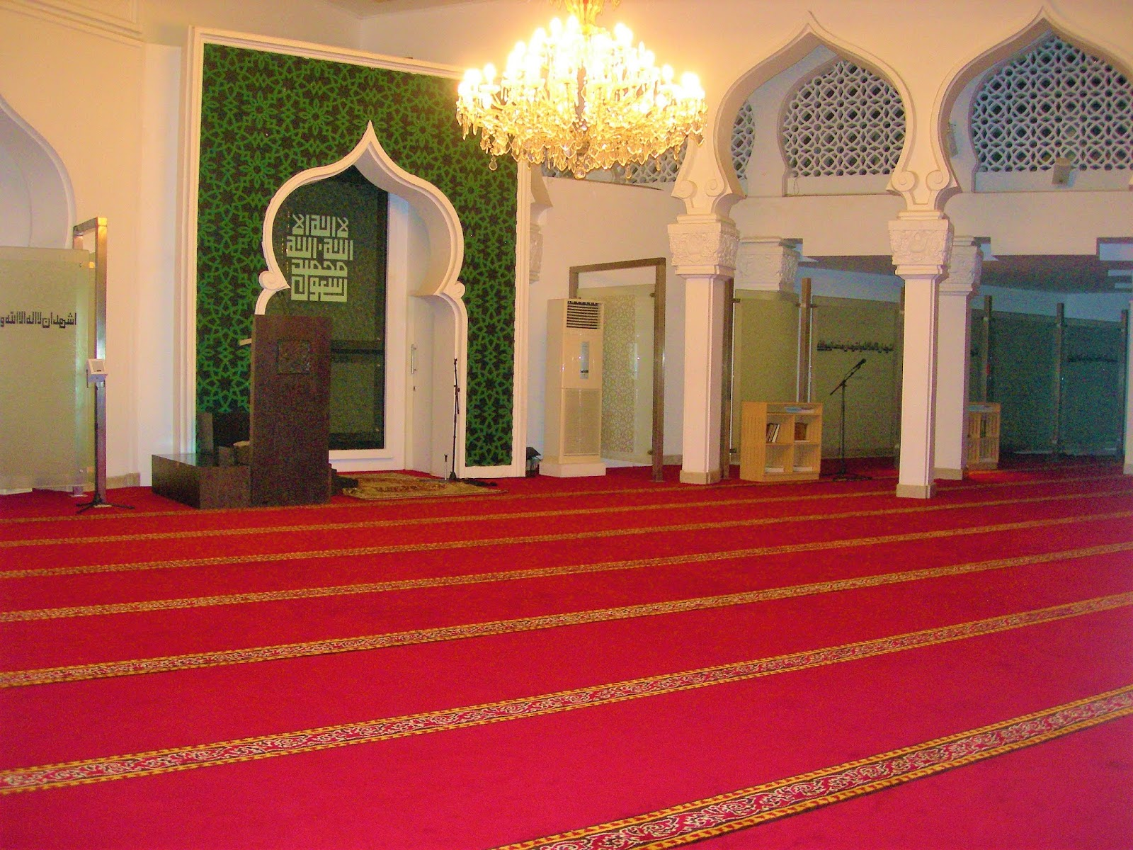 KARPET MASJID TURKI SUPER MOSQUE
