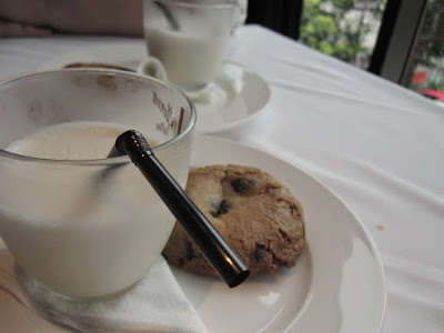 Luke's Oyster Bar & Chop House, stout shake chocolate chip cookies