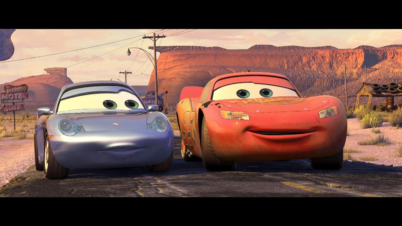 Cars (2006) BRRip 720p Latino – Ingles captura 3
