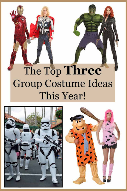 The top three group costume ideas this year