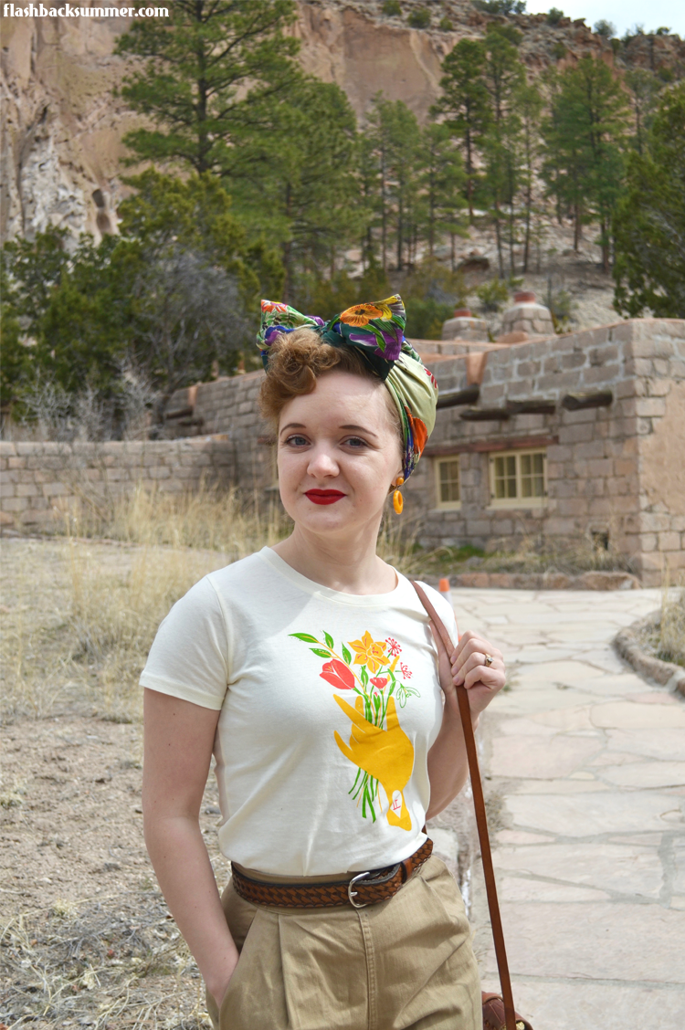 Flashback Summer: Santa Fe - T-Shirt from Memo Illustration