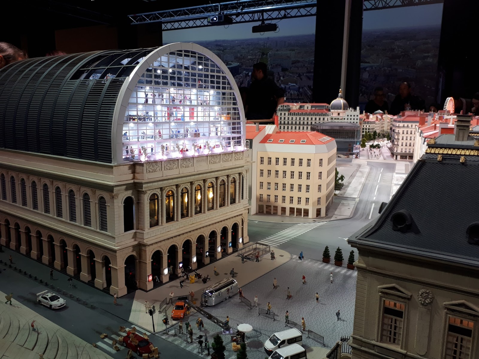 L'opéra de Lyon mini world