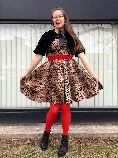 trashy diva leopard annette mini