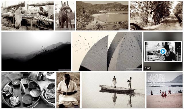 Indivue valokuvia Intiasta
