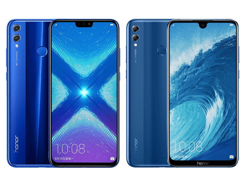 Honor 8X and 8X Max phablets with tiny notch are now official