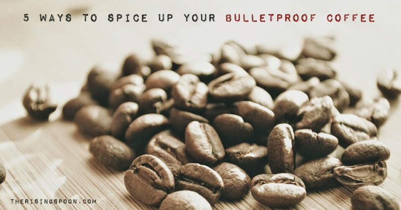 Five Ways to Spice Up Your Bulletproof Coffee | therisingspoon.com