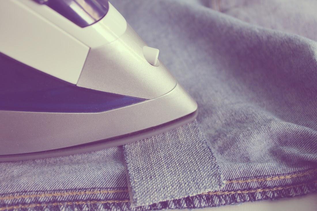 Zurcir con máquina de coser - Punto de Lu