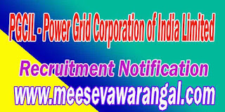 PGCIL (Power Grid Corporation of India Limited) Recruitment Notification 2016