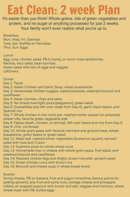 hover_share weight loss - eat clean 2 week plan