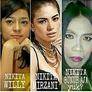 meme artis indonesia gokil