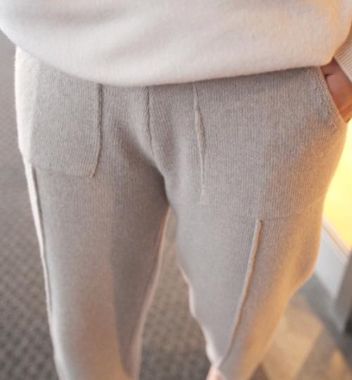Leg Seam Accent Pants