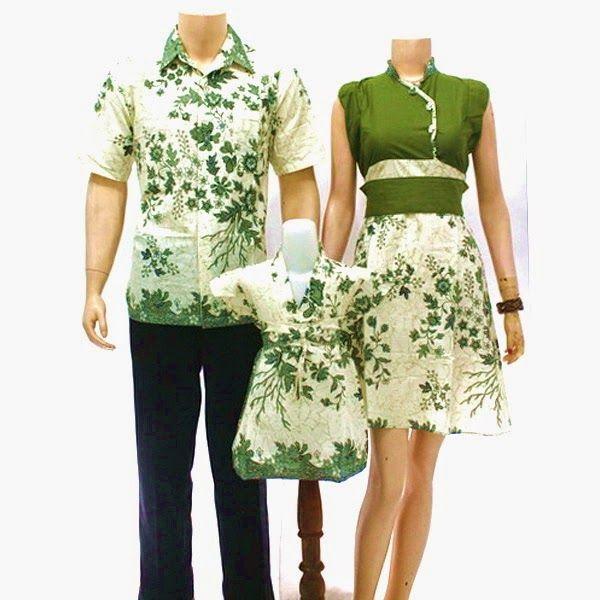 ッ 25 Model Baju Batik Sarimbit Keluarga Untuk Pesta Modern Kombinasi