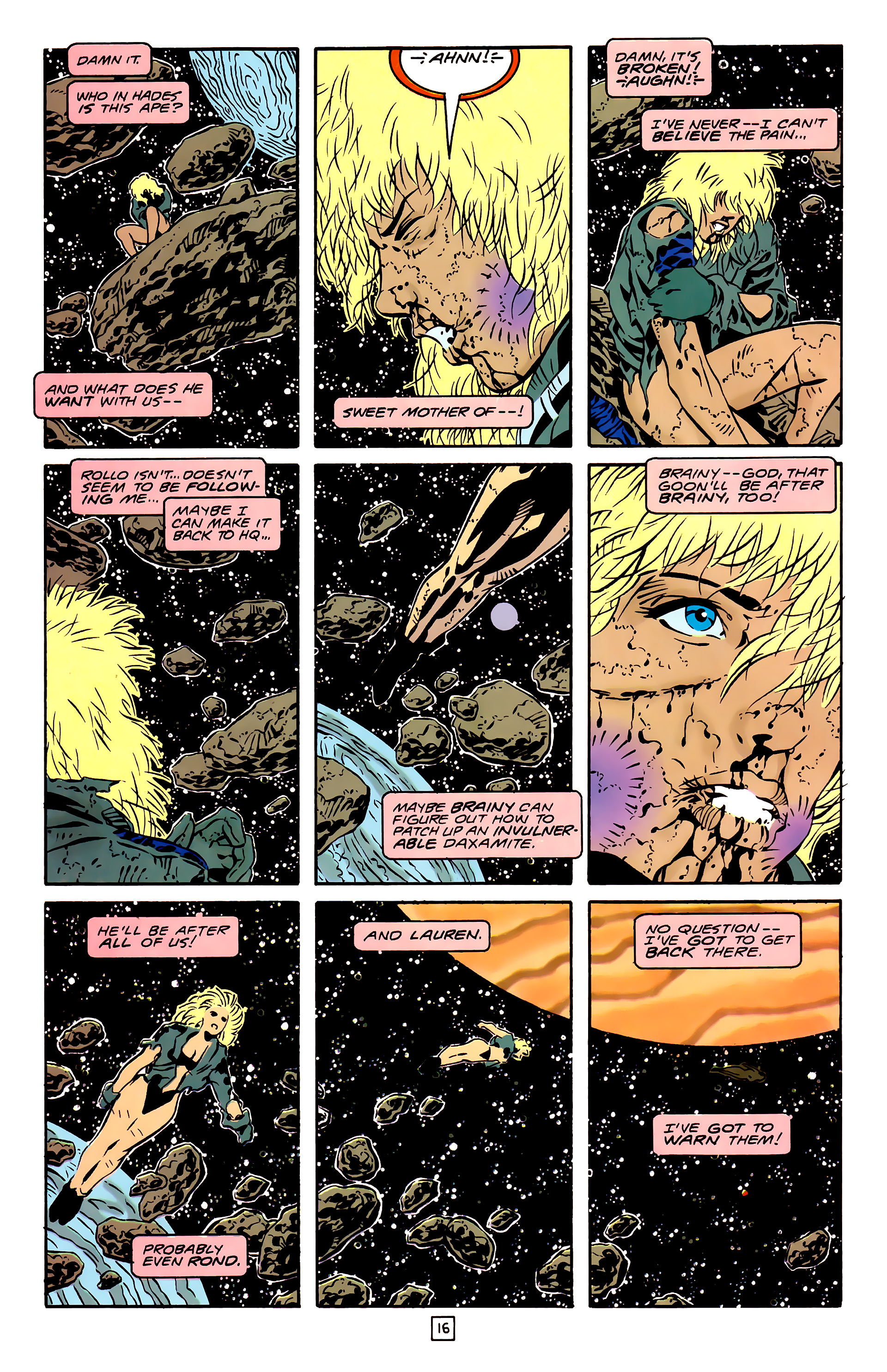 Legion of Super-Heroes (1989) 26 Page 16