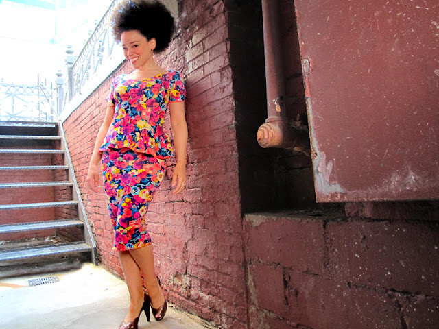 technicolor noise | oonaballoona by marcy harriell | sewing with by hand london