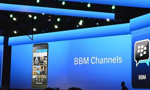 Launching BBM Channel