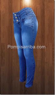 Pantalones  para dama de mezclilla de mayoreo baratos