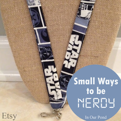 Small Ways to be Nerdy- a gift guide from In Our Pond.  Stocking Stuffers.  Christmas.  Holidays.  Geeks and Dorks.  Just Because Gifts.