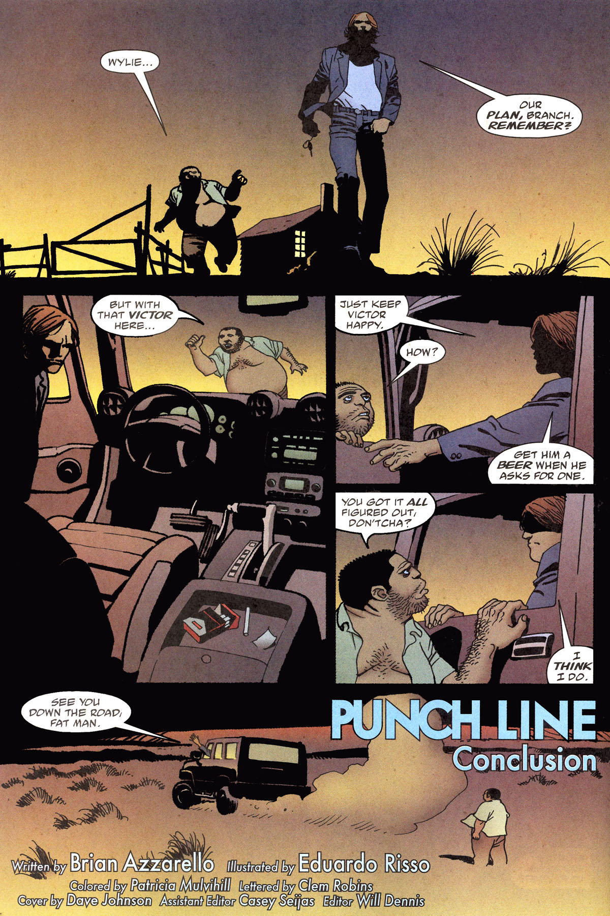 Read online 100 Bullets comic -  Issue #79 - 5
