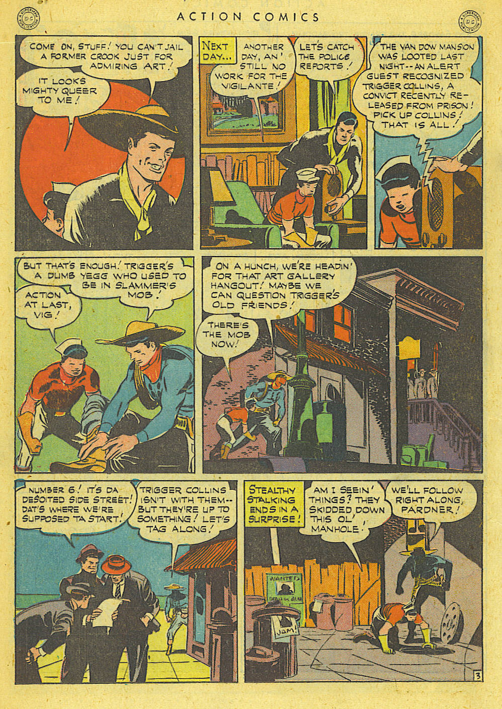 Read online Action Comics (1938) comic -  Issue #78 - 21