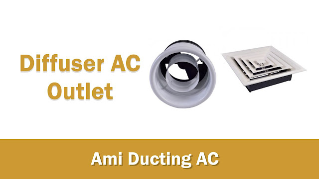 Diffuser AC Ducting Outlet, Nozzle, Diffuser Square, Linear Slot