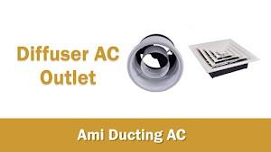 Jasa Pembuatan Diffuser AC Ducting, Diffuser Square, Nozzle, Linear Slot