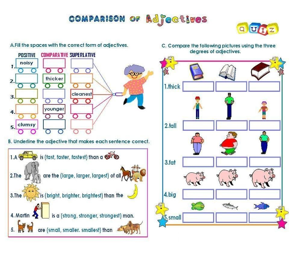 Comparisson Of Adverb