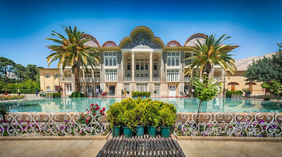 Enjoy visiting Eram garden in the city of art and poetry,Shiraz