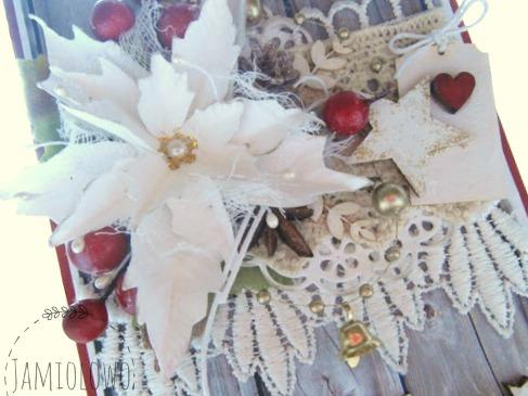 ozdoby na kartce bożonaeodzeniowej
