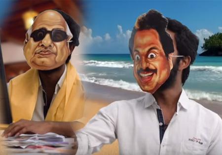 JV Breaks#DMk | CM Canditate Karunanidhi VS Stalin