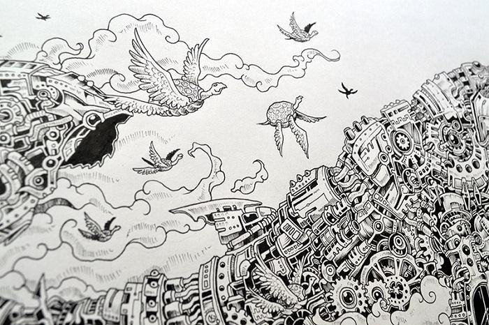 Jenis Doodle Art - Doodle Fantasy