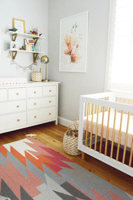 baby girls nursery paint color