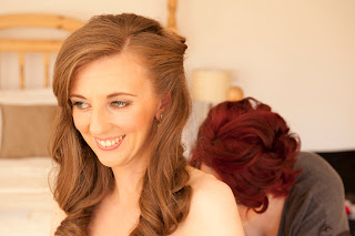 Long, Vintage wedding hair, hairstyle, wedding, wedding dress, bridal hairstyle