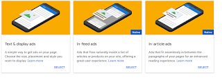 Text and display ads | Adsense