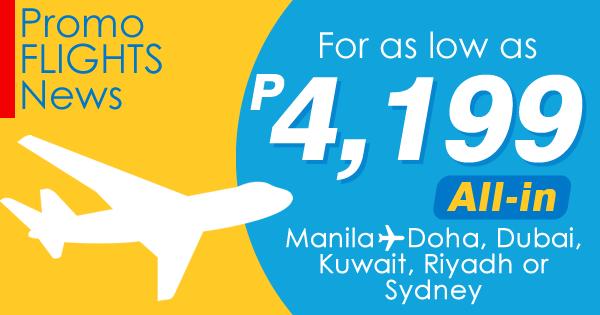 Manila to Sydney Promo Fare 2017