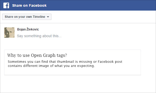 Why and How to Add Facebook Open Graph Tags to Adobe Muse Page