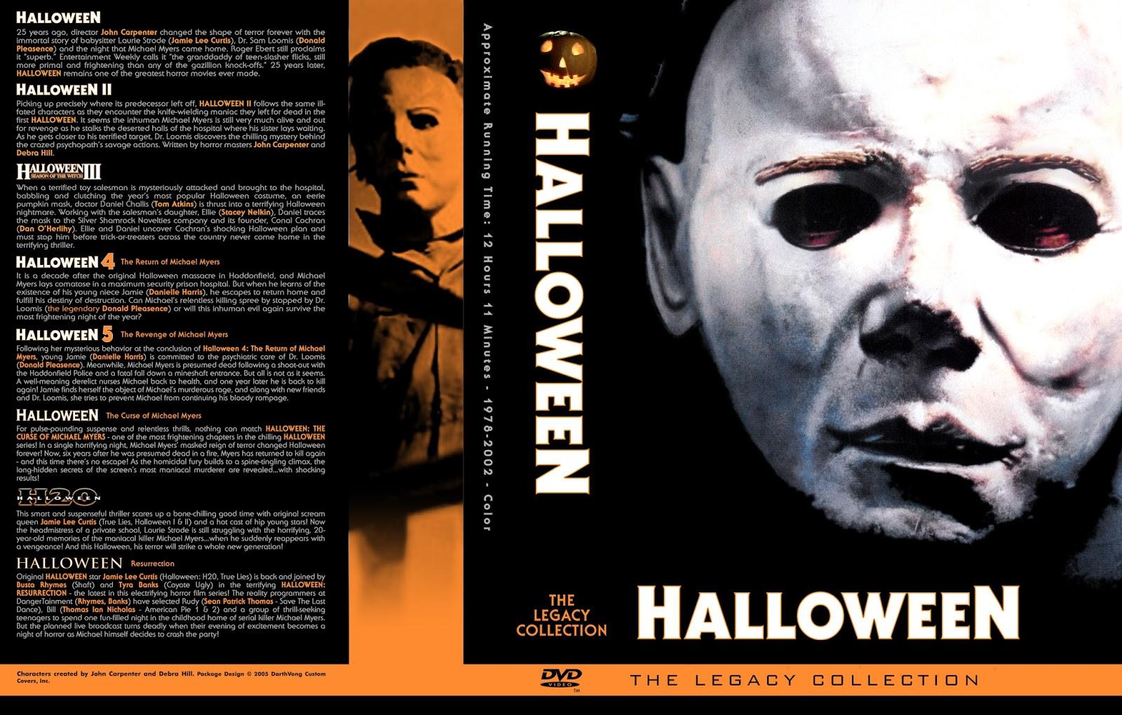 The Horrors of Halloween: HALLOWEEN Franchise (1978-2009) Boxset ...