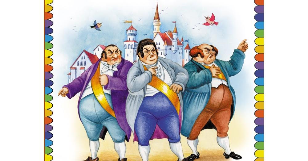 Картинки три толстяка за столом