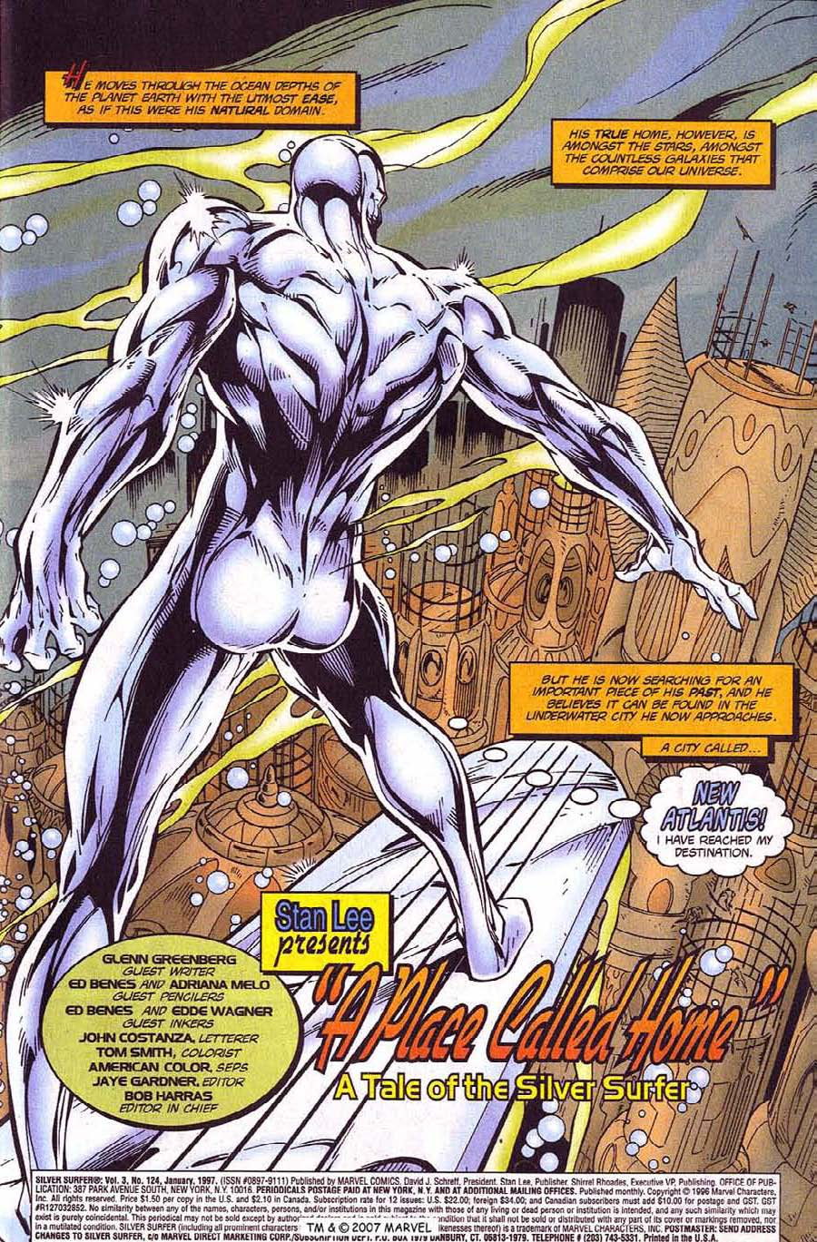 Read online Silver Surfer (1987) comic -  Issue #124 - 3