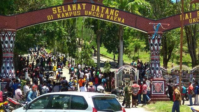 Polisi Bebas Masuk Lingkungan Uncen atas MoU dengan Rektor, Mahasiswa Protes dan Palang Kampus