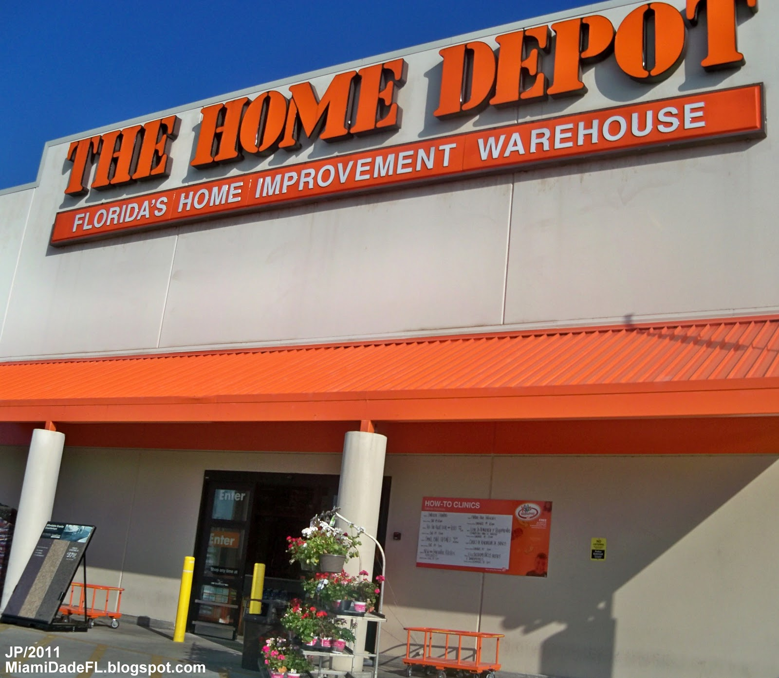 Bank St Home Depot Miami Florida Dade County South Beach Hotel Restaurant University