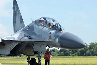 Pesawat Sukhoi TNI AU
