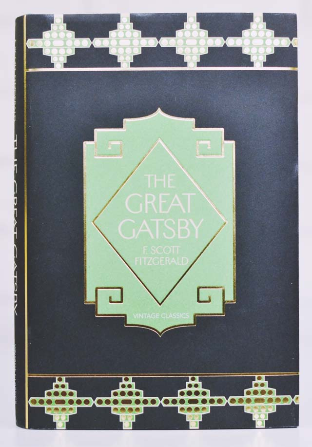 Beautiful copy of The Great Gatsby